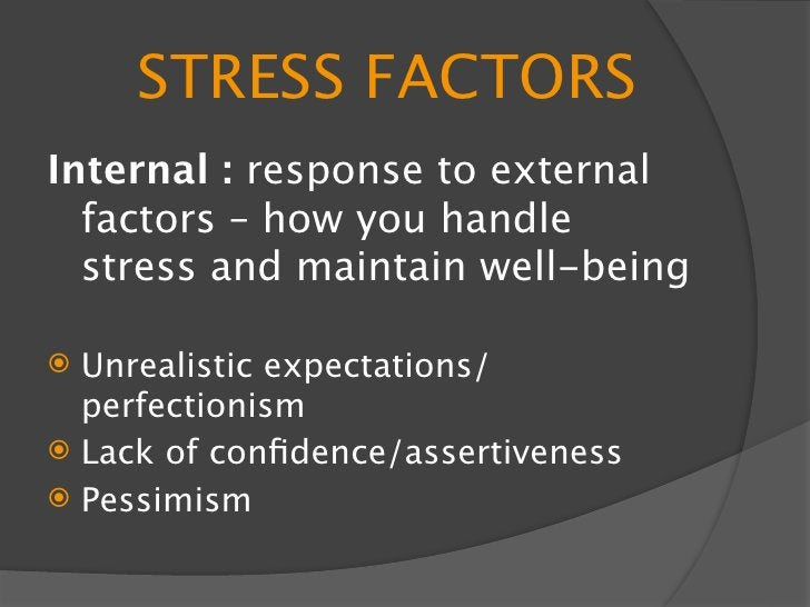 SHORT TERM STRESS -Adrenaline release is a response to short   term stress  -This happens when your body is   responding t...