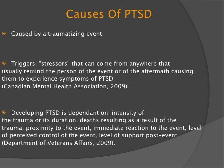 """Symptoms of PTSD  SYMPTOMS :""""usually begin within three months of the event. However, sometimes they surface many years la..."""