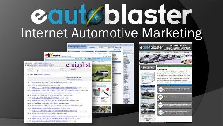 Internet Automotive Marketing