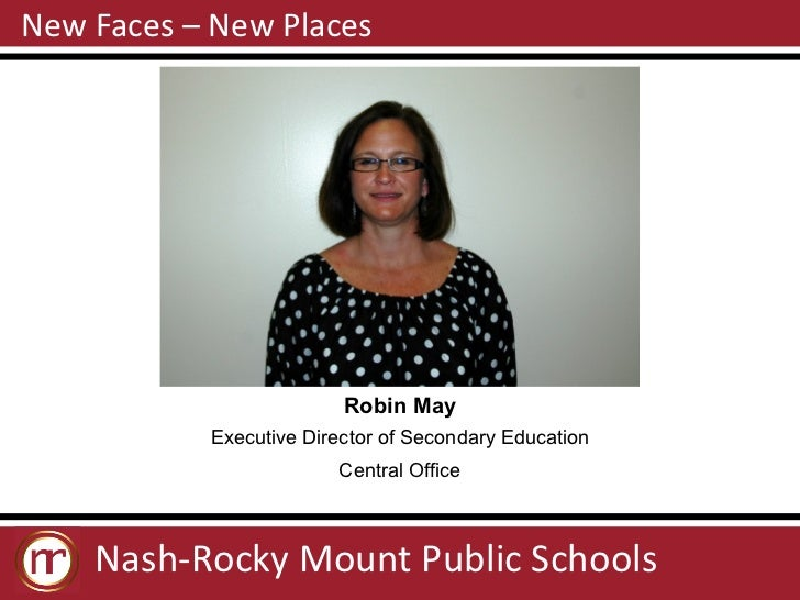 NRMPS New Faces / New Places