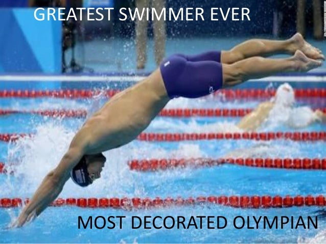 Most Decorated Olympian Michael Phelps