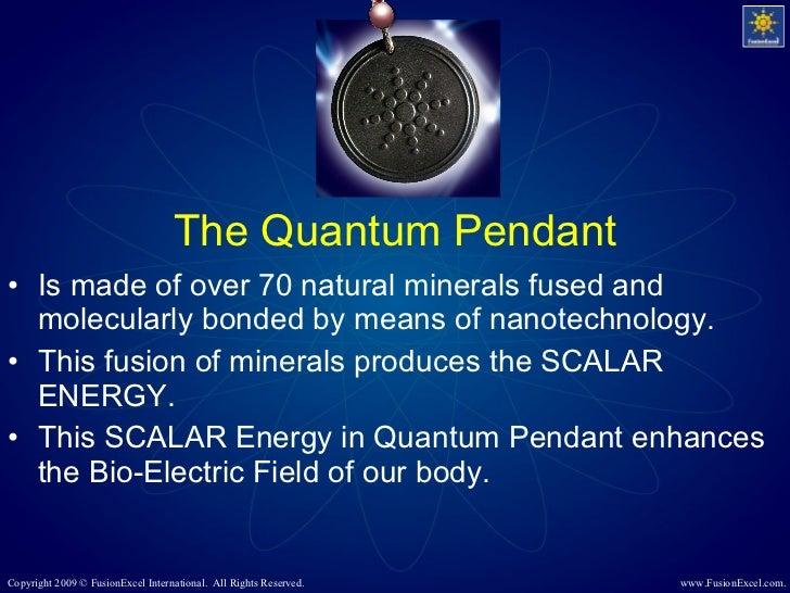 New fusion excel presentation 16 the quantum pendant mozeypictures Choice Image