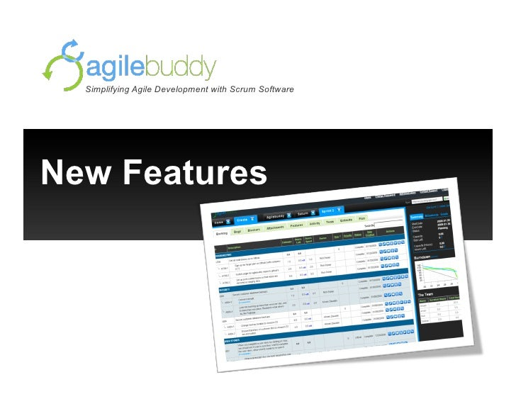 Simplifying Agile Development with Scrum Software     New Features