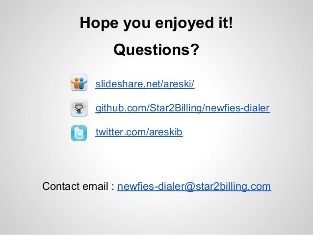 Newfies dialer - autodialer : freeswitch weekly conference 13 march20…