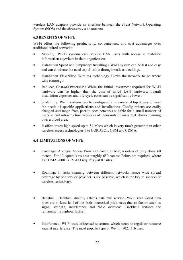 New final bsnl training report