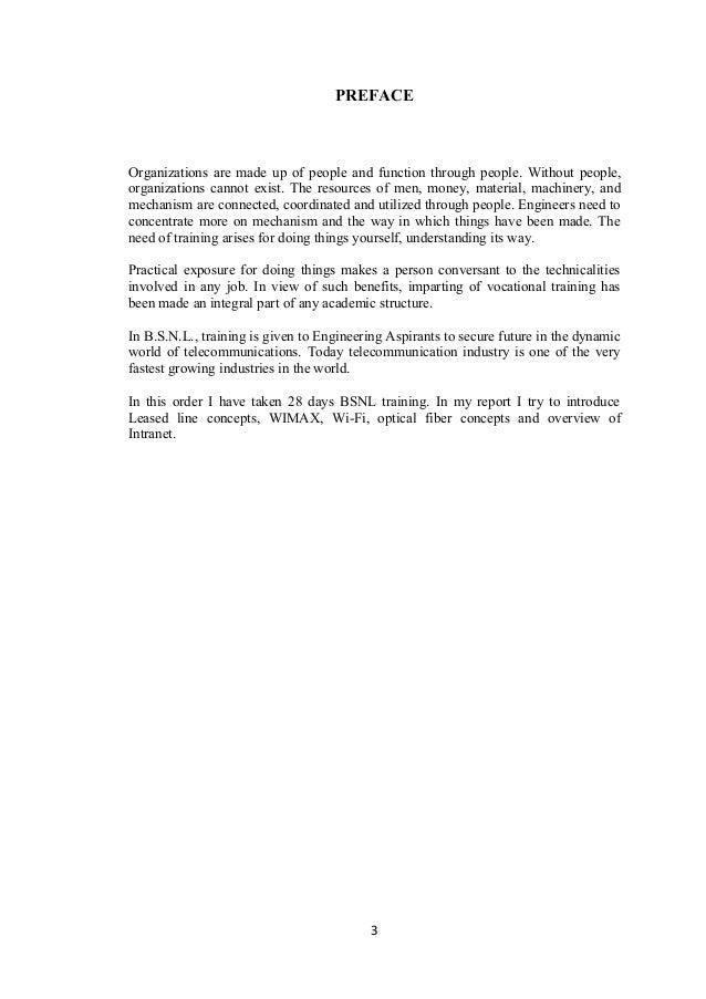 New final bsnl training report  Slide 3