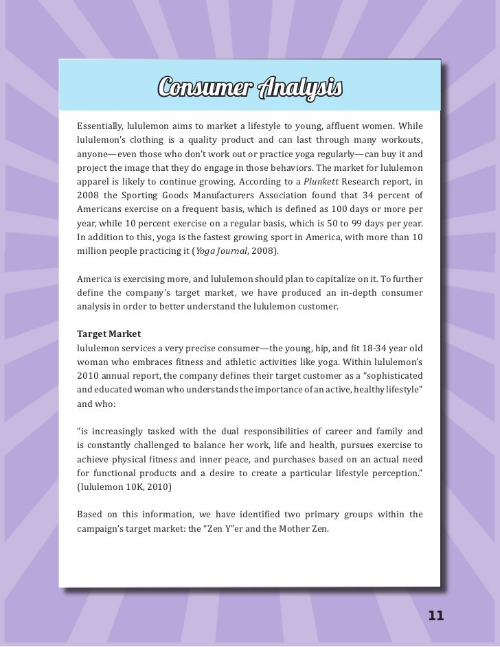 SWOT Analysis: lululemon athletica inc.