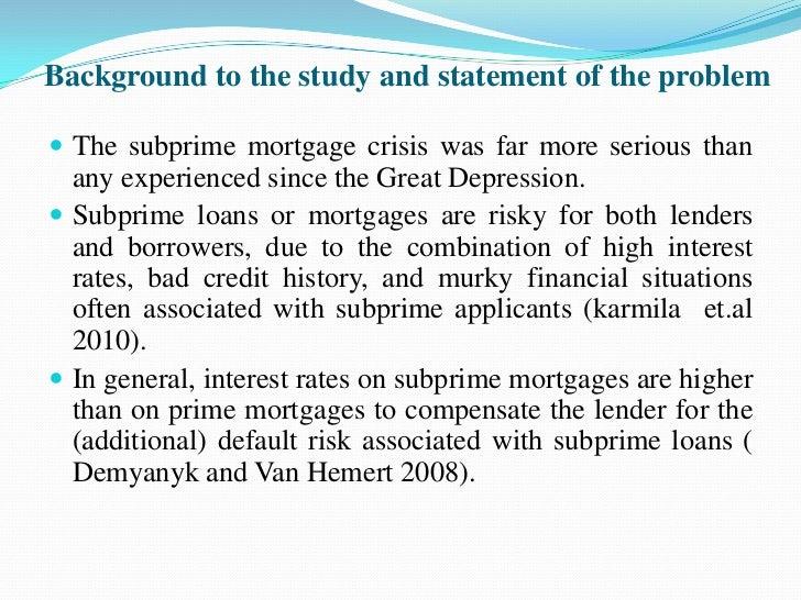 ethics in mortgage lending
