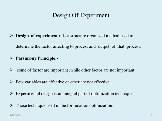 Computer Aided Formulation And Development How To Use Design Expert S