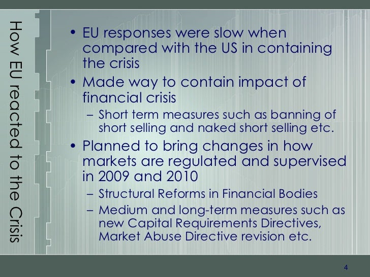regulatory responses to short selling Appendix i call for evidence - on the evaluation of the regulation (eu) 236/2012 of the european parliament and of the council on short selling and certain.