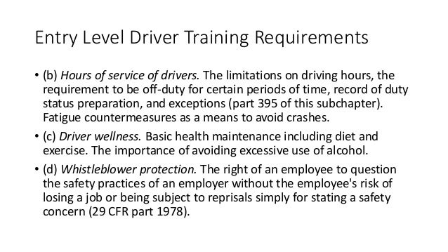 New fmcsa regulations 8 required mandates affecting every for Who is subject to federal motor carrier safety regulations