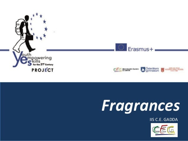 Fragrances IIS C.E. GADDA