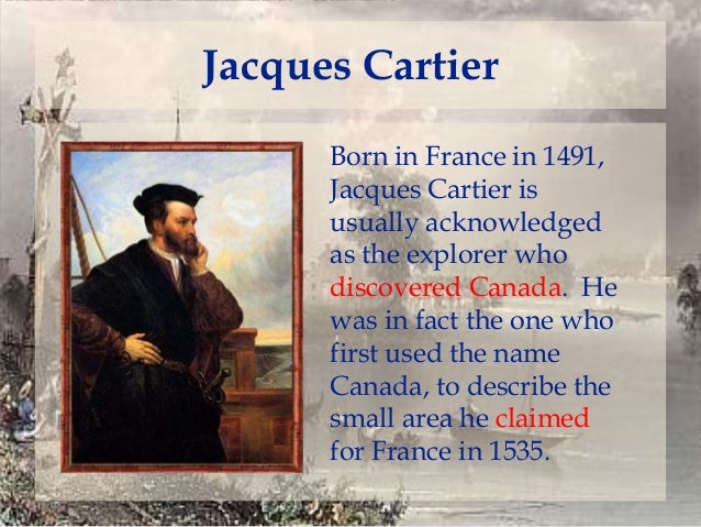jacques cartier timeline - photo #29