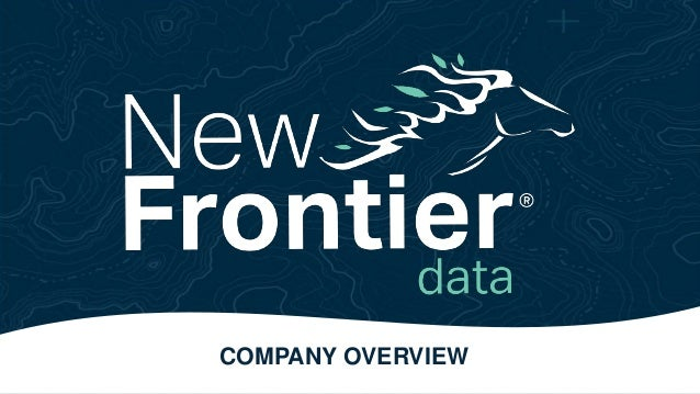 COMPANY OVERVIEW Private & Confidential: Not to be disseminated without the expressed written consent of Frontier Financia...