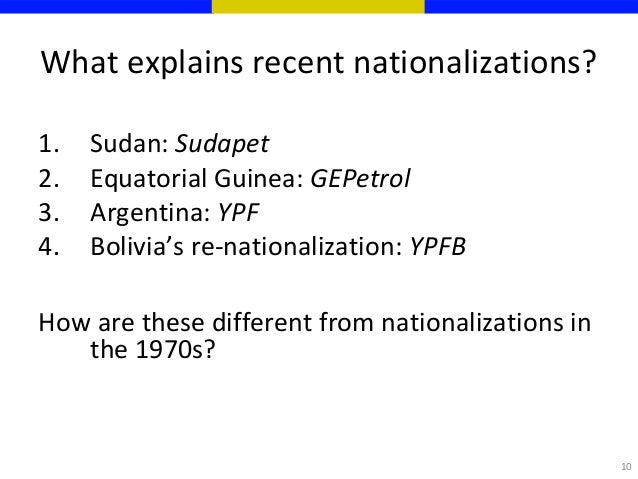 nationalisation versus globalization The matter, and also within the anti-globalisation movement, centres around   refers to the case of a borderless global economy in which economic nationalism.