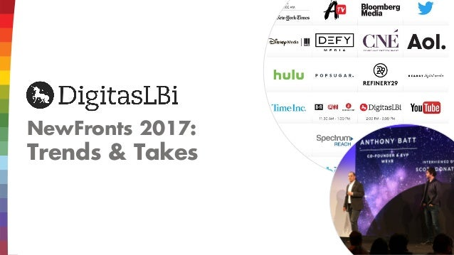 NewFronts 2017: Trends & Takes