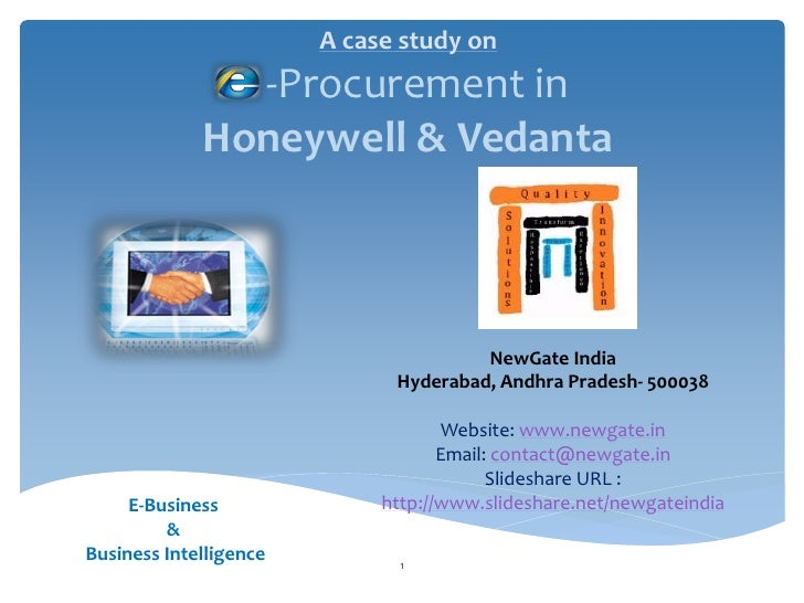 A case study on               -Procurement in             Honeywell & Vedanta                                       NewGat...