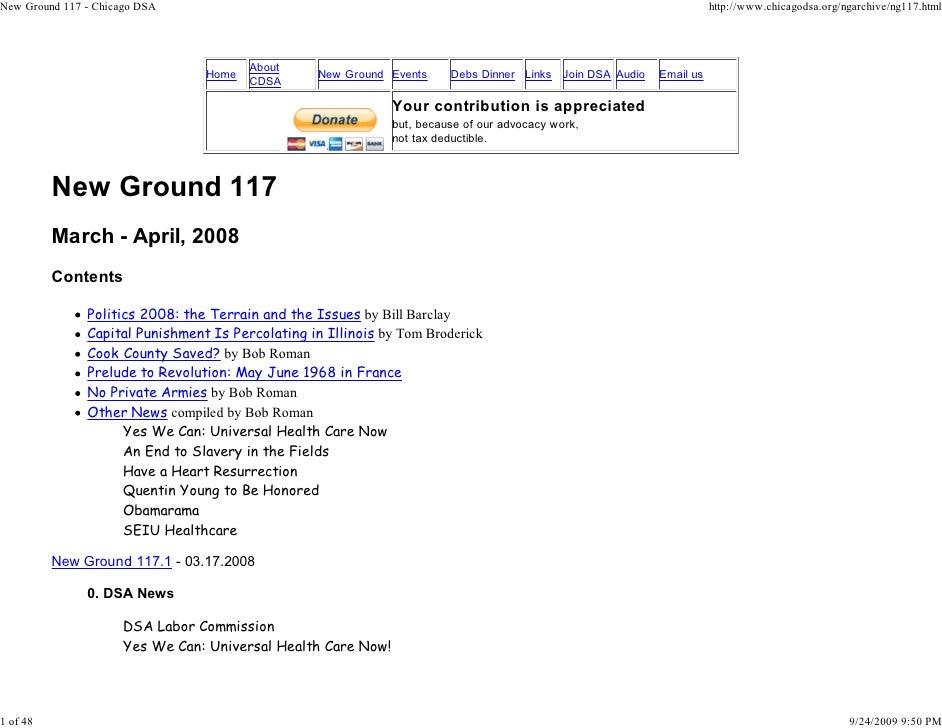 New Ground 117 - Chicago DSA                                                                                           htt...