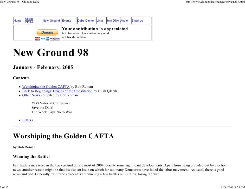 New Ground 98 - Chicago DSA                                                                                               ...