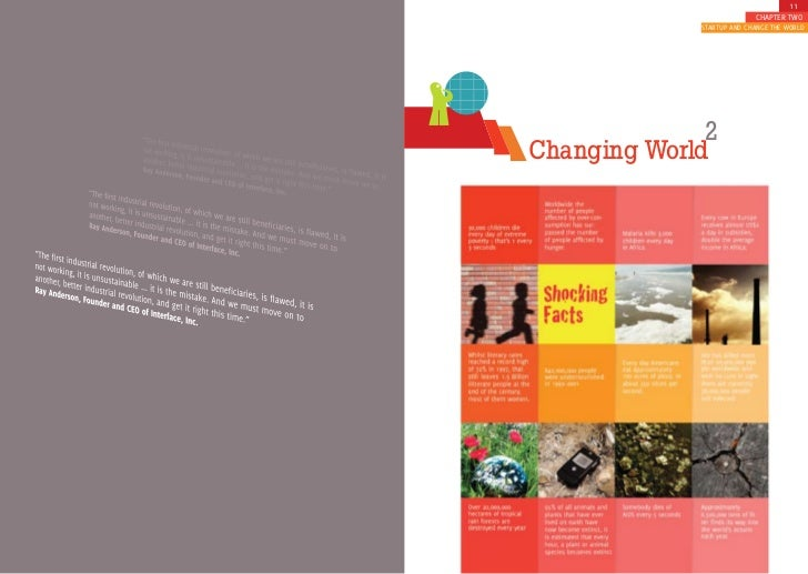 11                            CHAPTER TWO              STARTUP AND CHANGE THE WORLD                   2 Changing World