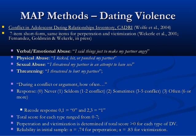 New york longitudinal study dating