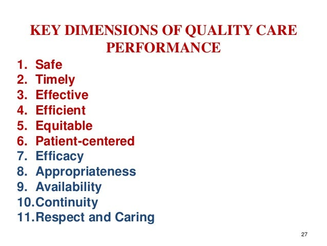 9 dimensions of quality Congratulations on your selection for an rn position with the james a lovell federal health care center as part of the salary determination process for registered nurses, you will be evaluated by a panel of your peers (nurse professional standards board or npsb) against the four dimensions of nursing practice.
