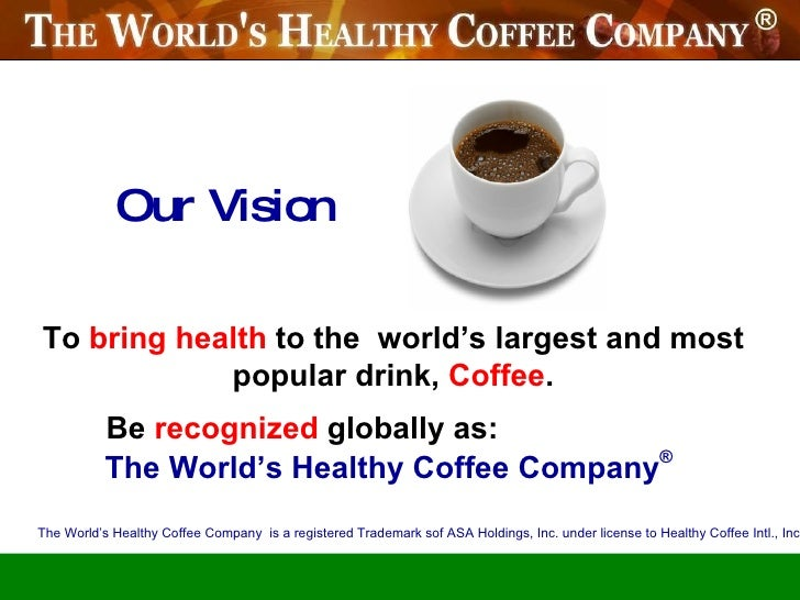 WOW...    A New healthy coffee :: presentation & compensation plan september 2010  Stop Cancer, Diabetes and more FOREVER! Slide 2