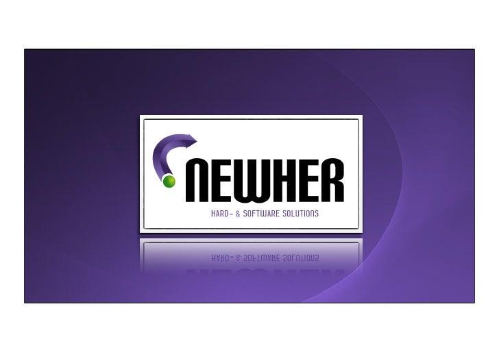 NewHer systems ๏ Apple oplossingen voor (complexe) besturingsuitdagingen ๏ Simpel, effectief, schaalbaar, 24x7 en idiot-pr...
