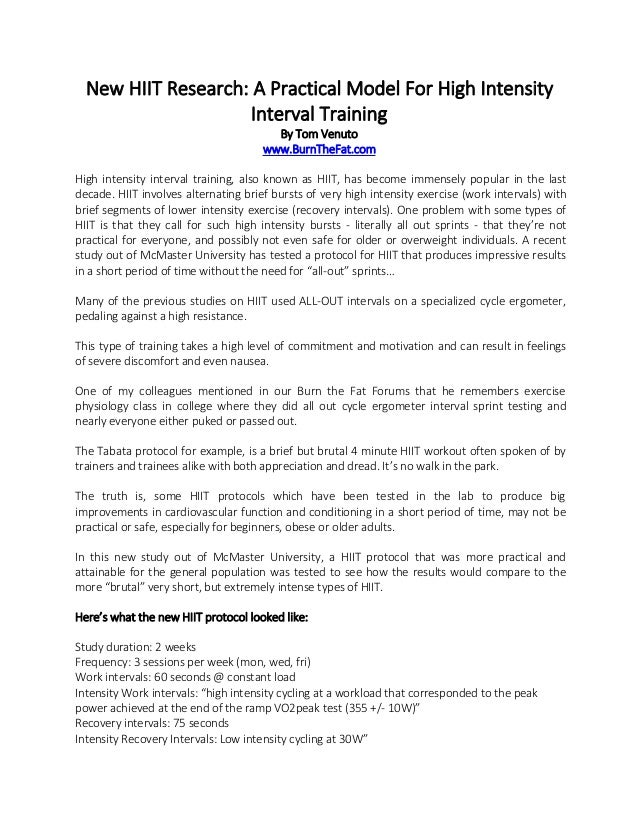 interval training research papers The school of education at nottingham is a leading centre for research in education, with a broad commitment to improving interval training research paper and investigating social justice and  d preliminary outline for research paper introduction the terms lactic acid and interval training research paper lactate, despite pos research paper.