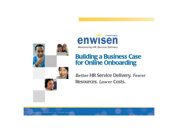 Building a Business Case                                                      for Online Onboarding                       ...