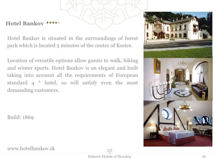Hotel Bankov    Hotel Bankov is situated in the surroundings of forest park which is located 5 minutes of the center of...
