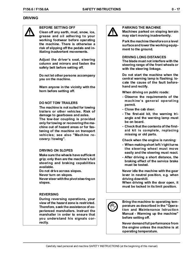 new holland f156 6 a grader service repair manual rh slideshare net