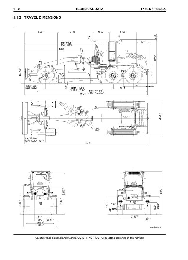 New holland f156.6 a grader service repair manual