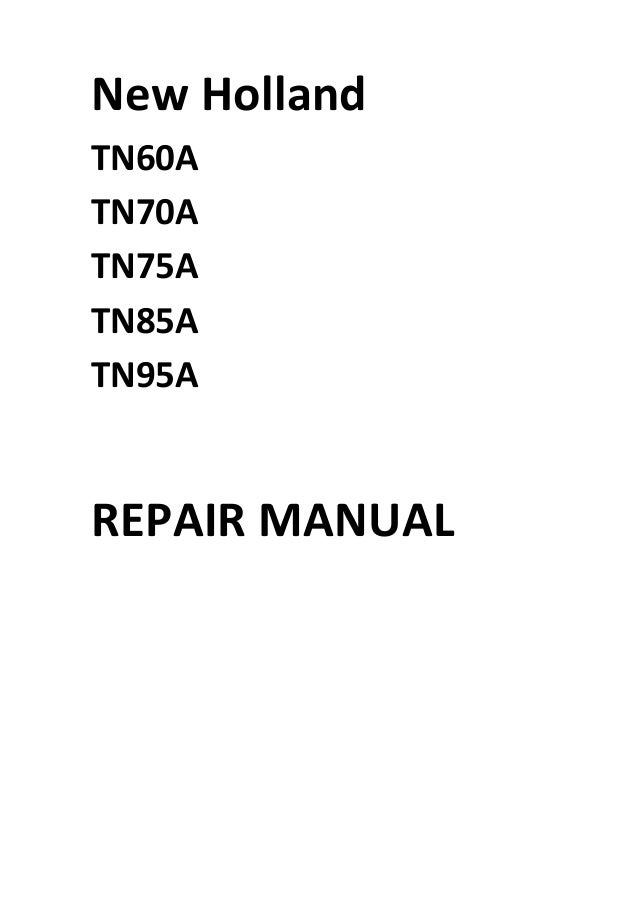 new holland tn60a tn70a tn75a tn85a tn95a manual