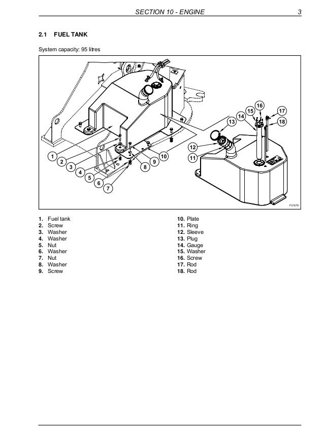 New holland w70 btc compact wheel loader service repair manual