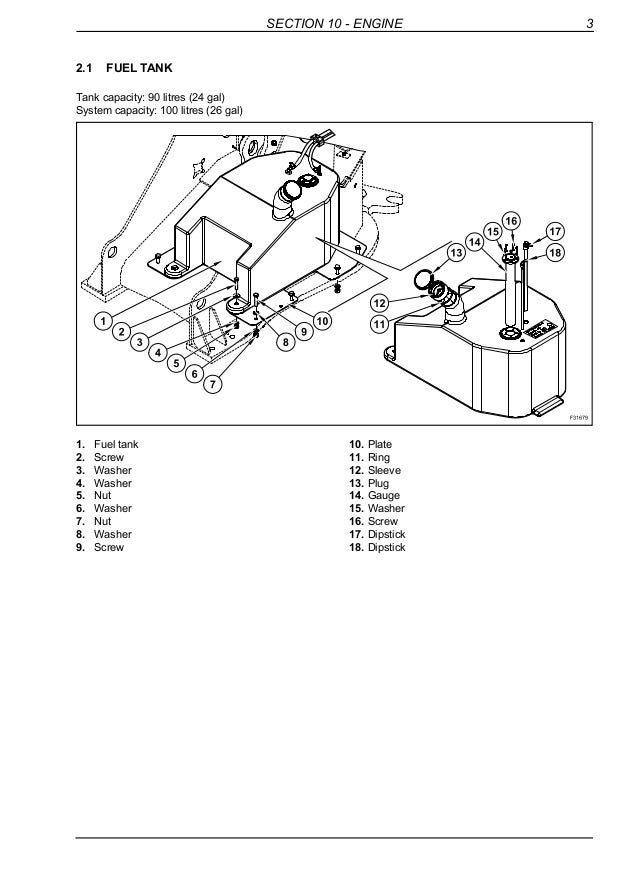 New Holland W70 Tc Compact Wheel Loader Service Repair Manual