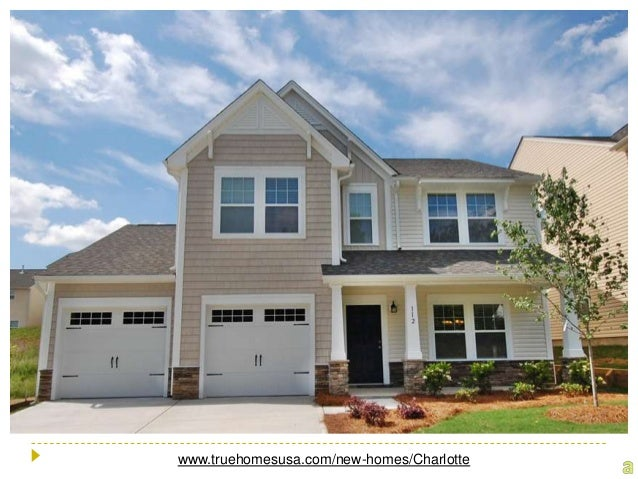New Homes In Charlotte North Carolina At True Homes Usa