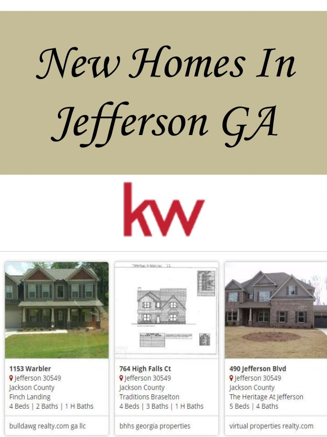 New homes in jefferson ga for New houses in georgia