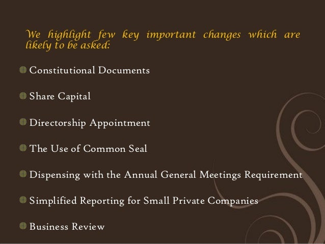 Image Result For Business Review Companies Ordinance
