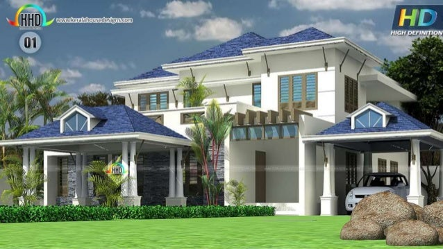 New House Designs For November   December 2016 84 Exclusive House  Architecture Designs ...