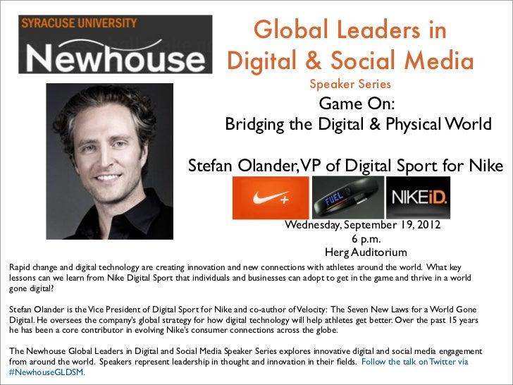 Global Leaders in                                                            Digital & Social Media                       ...