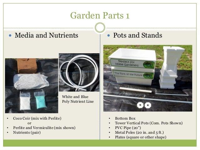 Hydro Harvest Farms Garden Instructions Slide 3