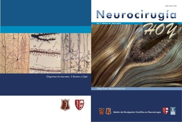 Vol. 9 Número 26 Año 9 (2016) HOY Greg Dunn Neuroscience art. Diagramas de neuronas. S. Ramón y Cajal.