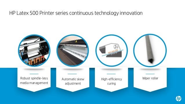 The new HP Latex 500 Printer series and the HP Latex 1500