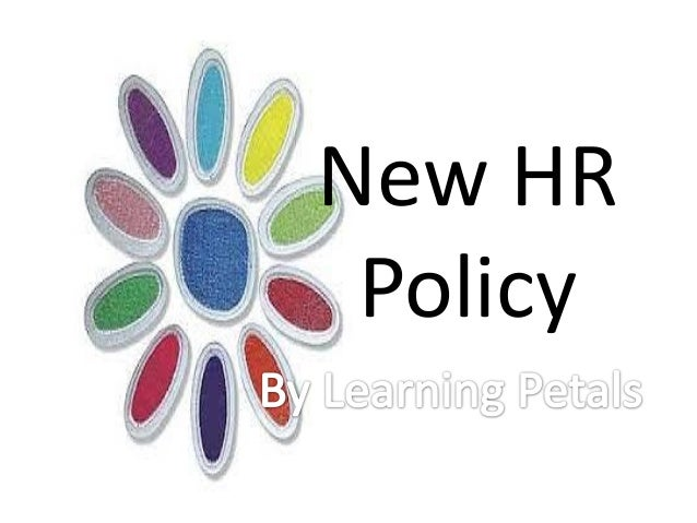 New HR Policy