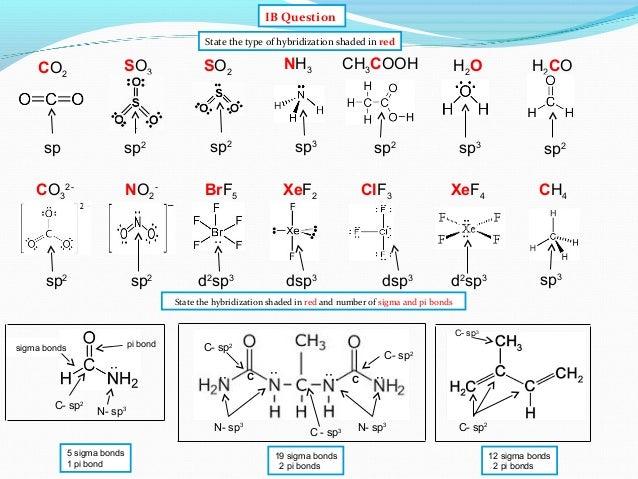 IB Chemistry on Valence Bond and Hybridization TheoryXef2 Hybridization Of Central Atom