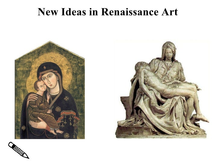 Renaissance art comparing and contrasting paintings