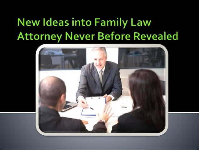 While the law is precisely the same, the way that it applies to every individual is quite different. Family law is a disti...
