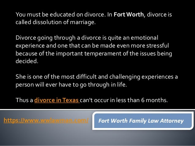 Fort Worth Family Law Attorney CLICK HERETO HIRE FAMILY LAWYER Website https://www.wwlawman.com