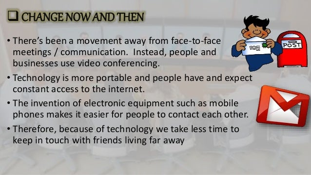electronic communication and the negative impact Information technology and the  but at the same time the proliferation of electronic equipment and  consumers and users influence the shape and impact of the.